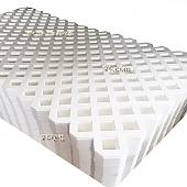 PVC래티스-화이트[Regular] 2400×1200×4[70*70]