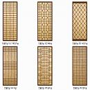 패션판넬보드(전통문살) 2440×1220×[4.5~17.5]
