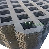 [신상품] PVC래티스-블랙 [Regular] 2440×1220×4[70×70]