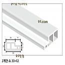 PVC 2계단몰딩-소 2400×30×12[단60EA]