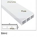 PVC 60평문선몰딩 2400×60×12[단30EA]